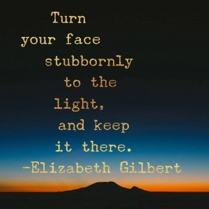 Love from Elizabeth Gilbert